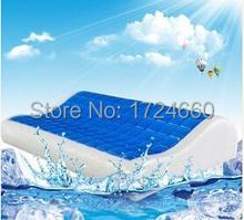 2015 neues produkt 30*50 space-speicher baumwolle hydrogel kissen Heide pflege pillow+free versand Groß-und Einzelhandel pl-002(China (Mainland))