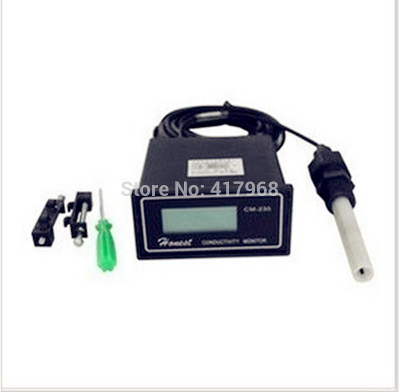 Conductivity Monitor Conductivity meter , electric conductivity rate instrument , 0-2000us/cm Error:2% CM-230