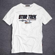 Star Wars Star trek Printed Mens Men T Shirt Tshirt Fashion 2016 New Short Sleeve O Neck Cotton T-shirt Tee S-5XL