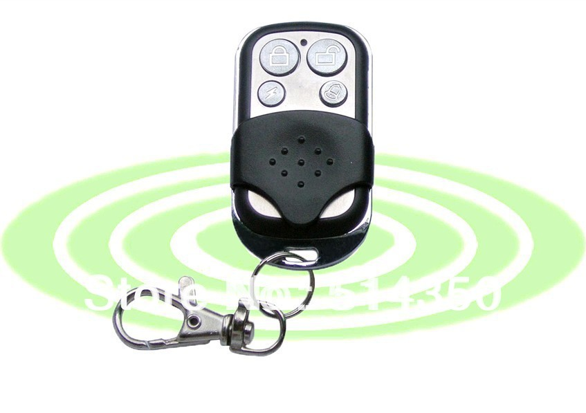 433MHz/315MHz Metal Wireless Remote Control key for our Home Alarm Systems