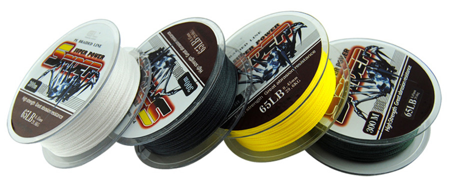Come to See!Superpower 300m 45LB 0.35mm braided wire Japan Multifilament PE Braided Fishing Lin(China (Mainland))