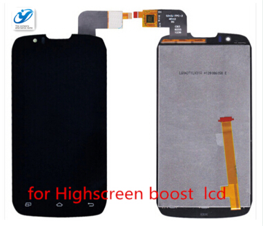 New Original DNS S4502 m IPS LCD Display + Touch Screen digitizer For DNS-S4502 Highscreen boost Cloudfone Thrill430X touchpanel(China (Mainland))