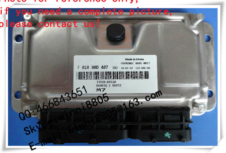 For Big Dipper car engine computer board / car pc / Engnine Control Unit (ECU) / F01R00D407 / 33920-69J20(China (Mainland))