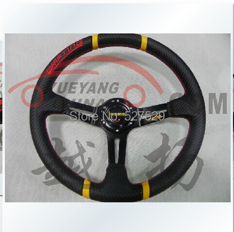 New arrival Car steering wheel modified steering wheel automobile Racing steering wheel PVC momo steering wheel(China (Mainland))