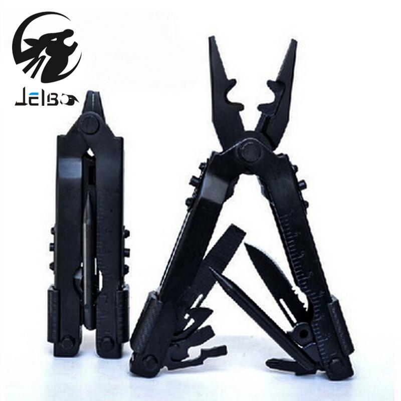 Jelbo Multitool Hand Tools Pliers Outdoor Portable Screwdriver Pliers Survival Multi Tool Plier Pocket Carabiner Tools(China (Mainland))