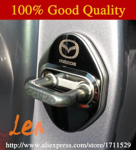 Door Lock Decoration Protection Cover case for CX 5 CX-5 cx5 Mazda 3 mazda 6 mazda 2012 2013 2014 2015 car styling(China (Mainland))