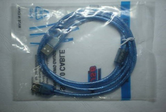wholesale 1.5m usb 2.0 extension cable  2.0 A male to USB 2.0 B female  freeshipping