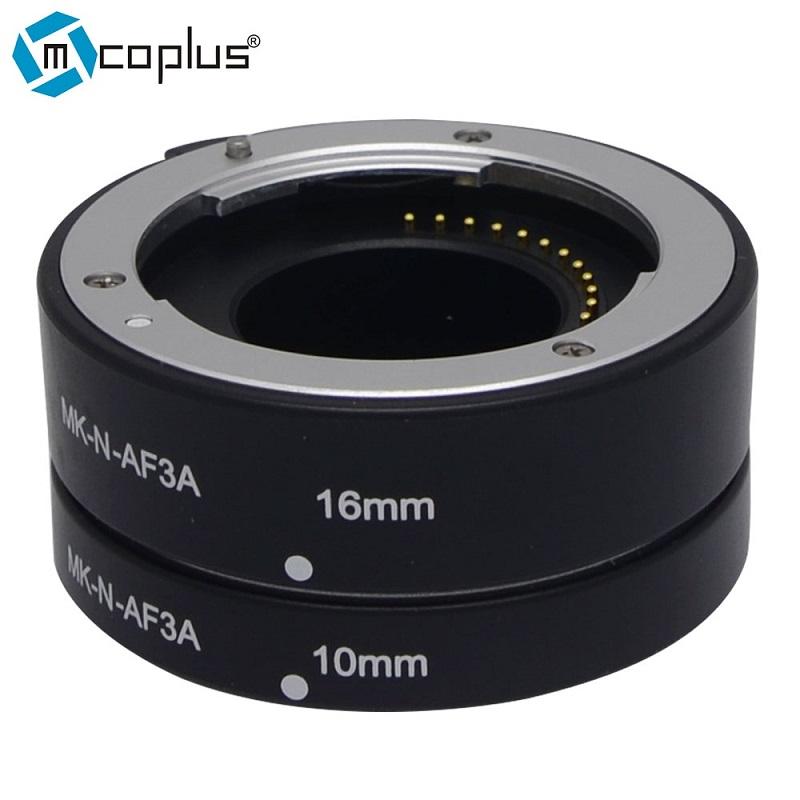 Mcoplus Meike N-AF3-A Metal Auto Macro Focus AF Extension Tube for Nikon 1 Mount Camera J1 J2 J3 V1 V2(China (Mainland))