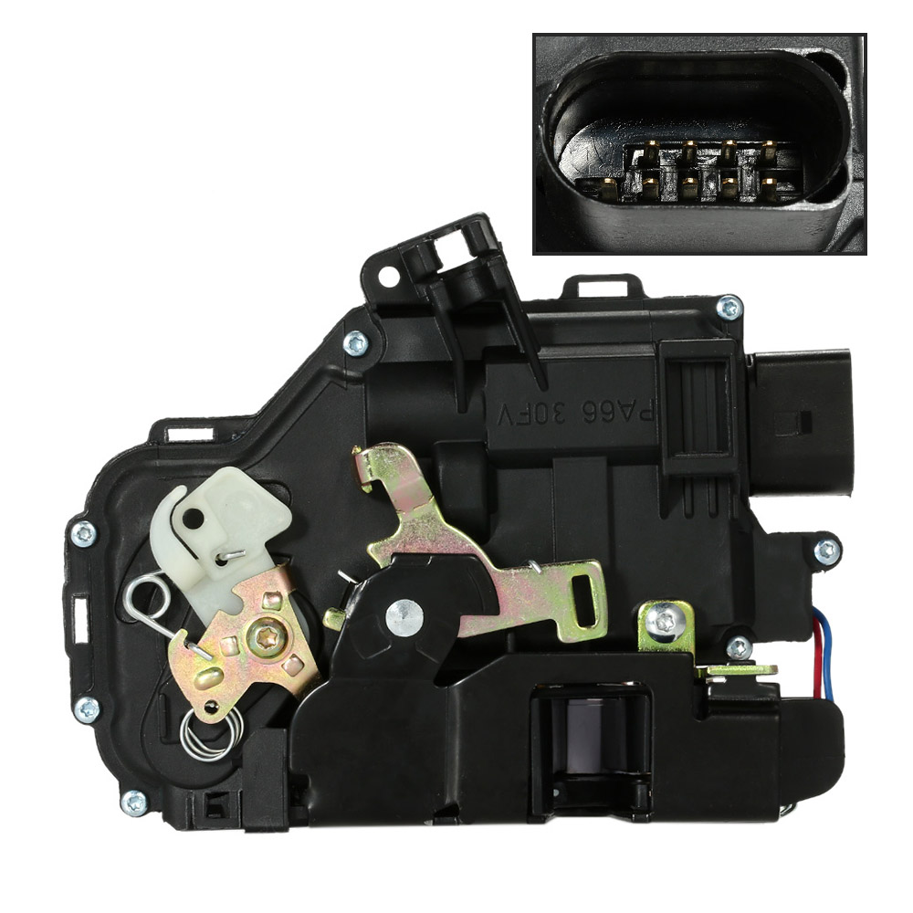 Professional Car Front Left Door Lock 4B1837015G for Audi A6 4B C5 1998-2005 Car Alarm System Accessories for Audi(China (Mainland))