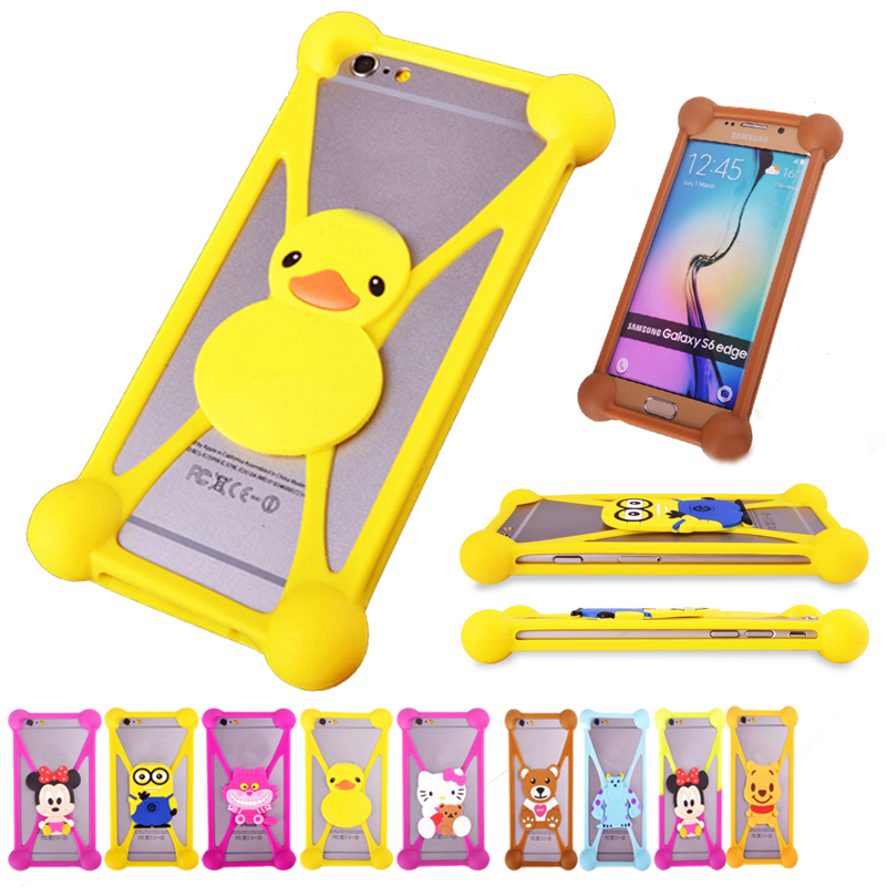 Lovely 3D Cartoon Rubber Cases For Samsung Galaxy Star Advance G350E Star 2 Cell Phone Soft Silicone Anti-knock Case In Stock(China (Mainland))