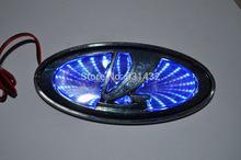 Car logo 3D Lada LED emblem Badge light lamp sticker for Lada Kalina Car led 2104