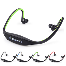 Buy High Sports Bluetooth Earphone S9 Wirless Handfree Auriculares Bluetooth Headphones MIC iphone Huawei XiaoMi for $3.61 in AliExpress store