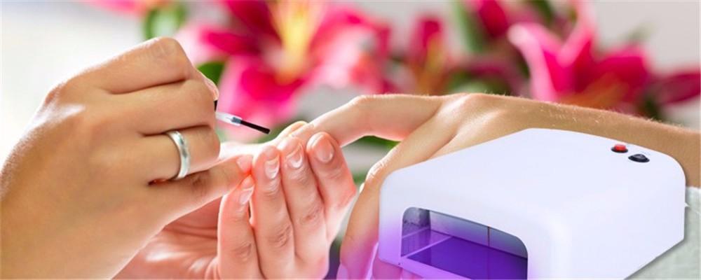 Unhas de Gel profissional Secador de cabelo de Alta qualidade 36 W de Cura UV Da Lâmpada 220 V Ferramentas de Arte do Prego luz Adequado Para Mãos E Pés Vendas Quentes