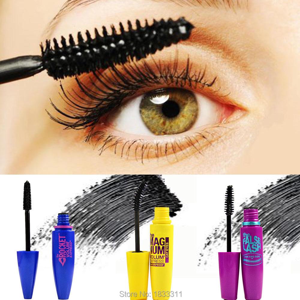 3pcslot Colossal Mascara Cream Volume Express Makeup Curling Real