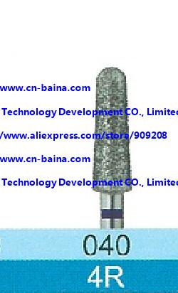 silicon carbide bur diamond bur 4R wokring size 4mm dental bur round end dental laboratory material shank 2.35mm