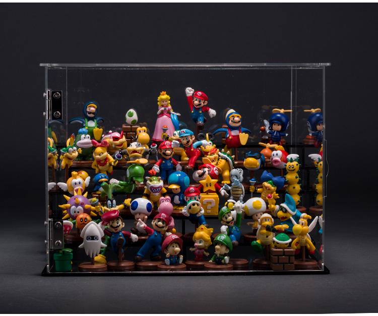 1Set Free shipping Original Anime Super Mario Bros 3cm Super Mario Yoshi Dinosaur PVC Figure Toy 13pcs/set with in Box(China (Mainland))