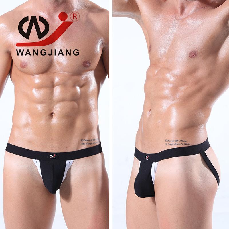 String Homme Mens Thongs And G Strings Sexy Gay Men Underwear Mens Thong Sexy Erotic Homens Bikini Jockstrap(China (Mainland))
