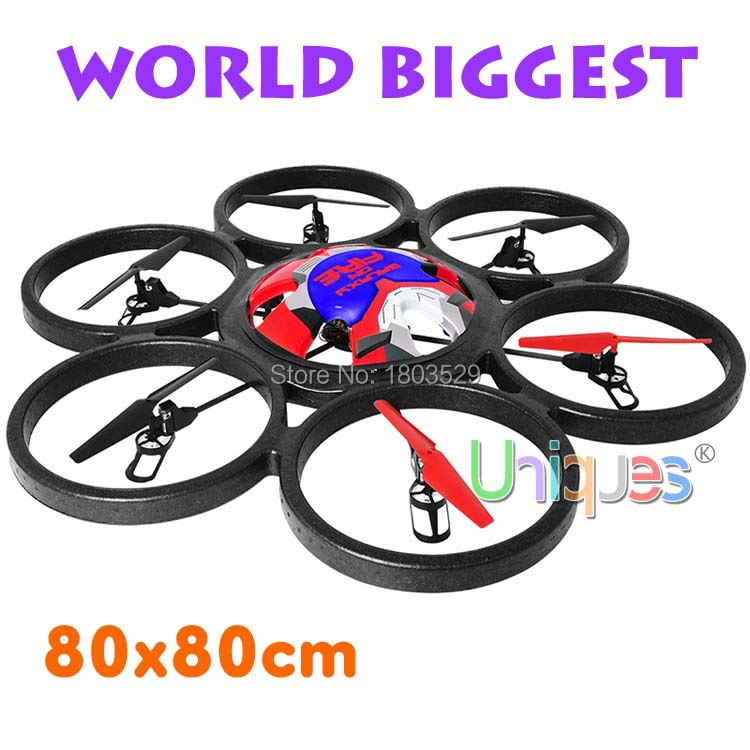 World Biggest WLtoys V323 Quadcopter RC Remote Control Helicopter 80cm 4CH Radio Big Quadrocopter UFO With