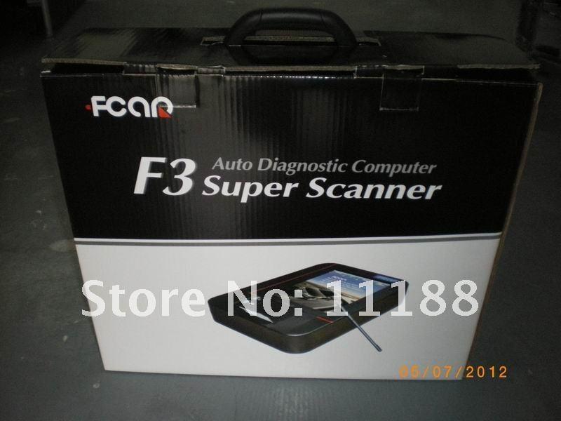 2016 F3-G (F3-D + F3-W) Fcar auto diagnostic computer Super scanner(China (Mainland))