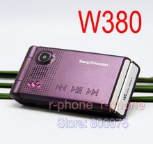 Original Refurbished Sony Ericsson W380 W380i Mobile Phone Unlocked & English Russian keyboard(China (Mainland))