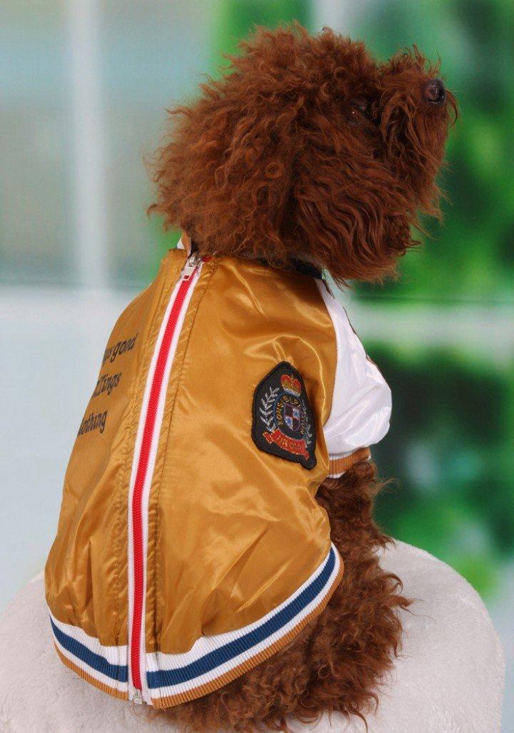 Cool Dog Training Clothes Puppy Racing Suits Dog Motor Coat Fashion Dog Clothes Dog's Sports Coat(China (Mainland))