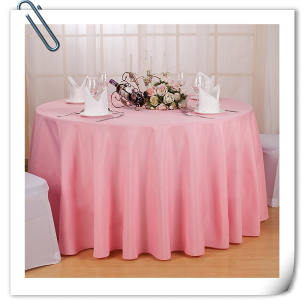 wholesale cheap polyester 70inch table cloths 20pcs chocolate tablecloths FREE SHIPPING many colors(China (Mainland))