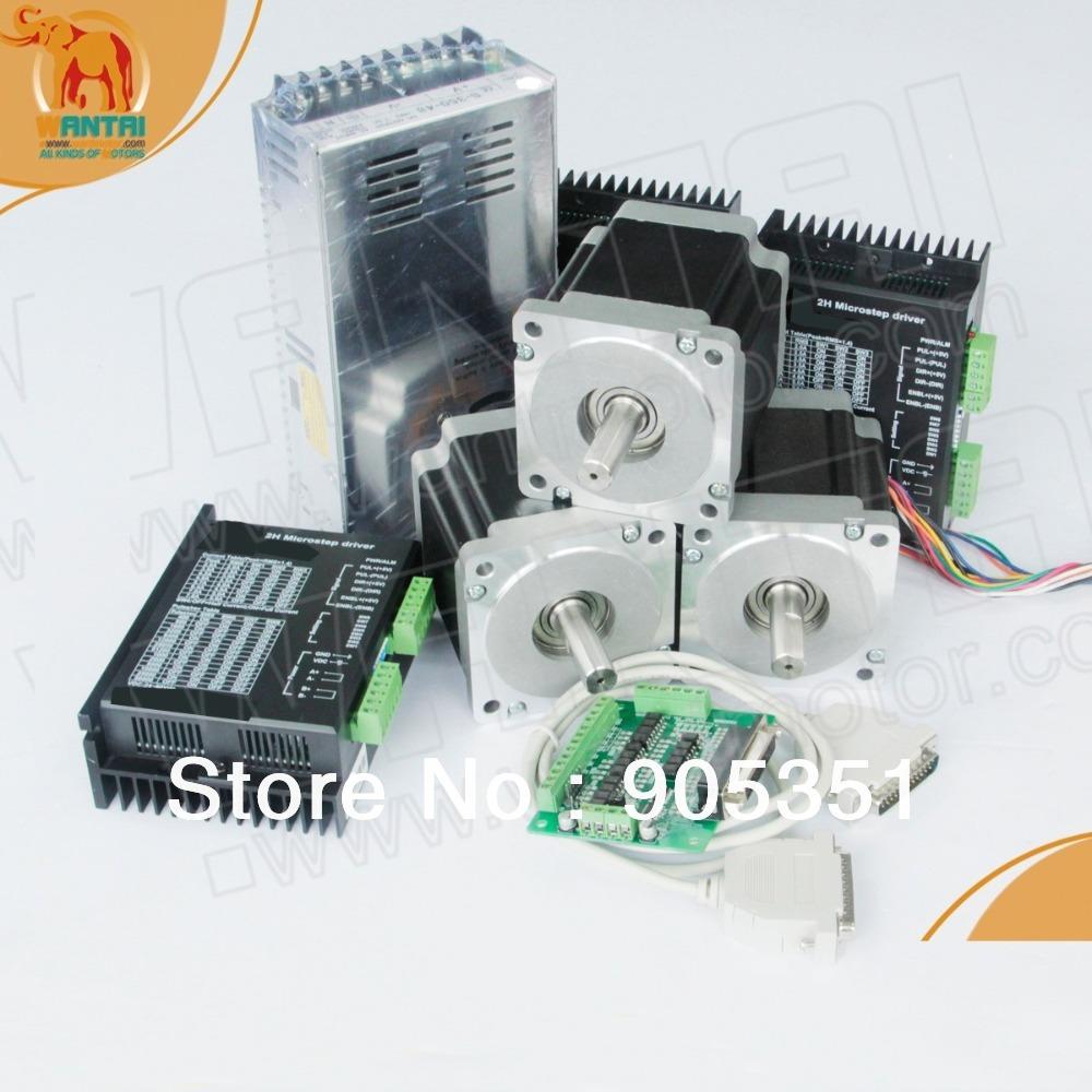 Buy Cnc Kit 3axis Nema 34 Stepper Motor
