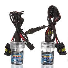 Special Sale! 2 X Car H1 Front Light Headlight White Xenon HID Bulb 35W 6000K(China (Mainland))