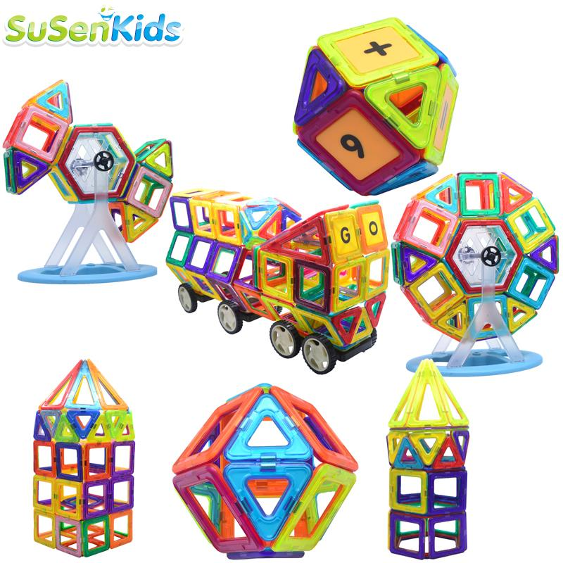Magnetic magformers 14building models & building toy enlighten plastic model kits educational toys toddlers