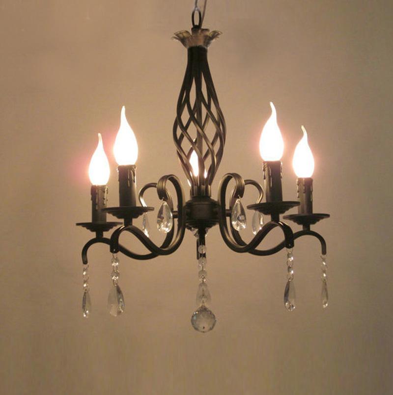 free shipping antique black bronze finish 5 lights mini
