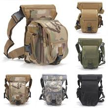 Nuova moda militare armi tattiche di sport esterno giro del pacchetto della vita sacca da gamba impermeabile speciale goccia utility coscia pouch  (China (Mainland))