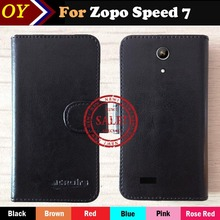 Hot!! 2016 Zopo Speed 7 Case Flip Ultra-thin Customize Leather Protective Phone Cover Wallet Stand Function Design