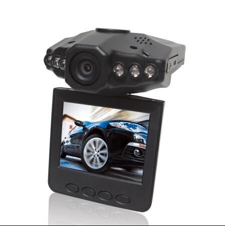2.5 '' TFT LCD экран H198 автомобильный видеорегистратор видеорегистраторы 270 град. экран с поворотом черный ящик автомобиля с 6 из светодиодов ИК ночного видения видеокамеры