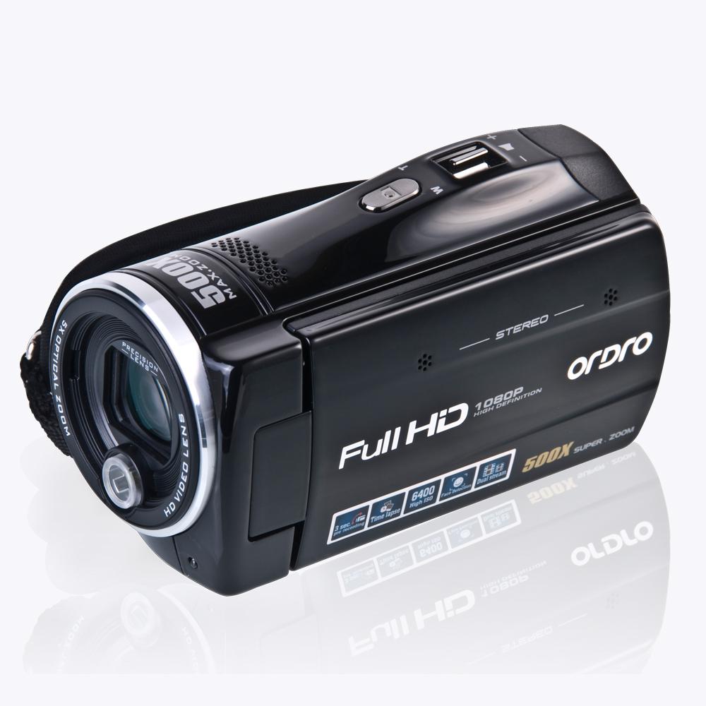 "HDV-Z65 DV Digital Video Camera FULL HD 1920*1080P 30FPS 16Mega pixels 5X optical zoom 100X digital zoom 3.0"" touch LCD(China (Mainland))"