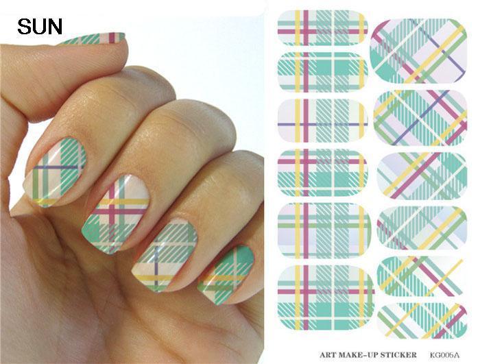 Наклейки для ногтей Sun Nails Foi sticker