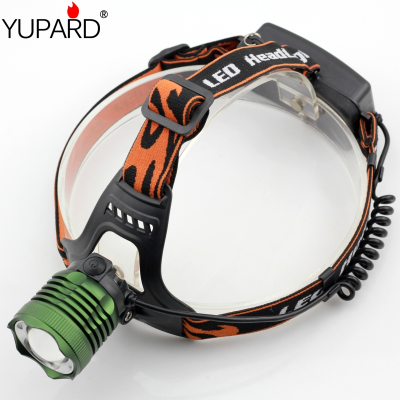 CREE Q5 LED HeadLight zoomable Headlamps white blue LED camping fishing power zoom Head Light use 18650 rechargeable battery(China (Mainland))