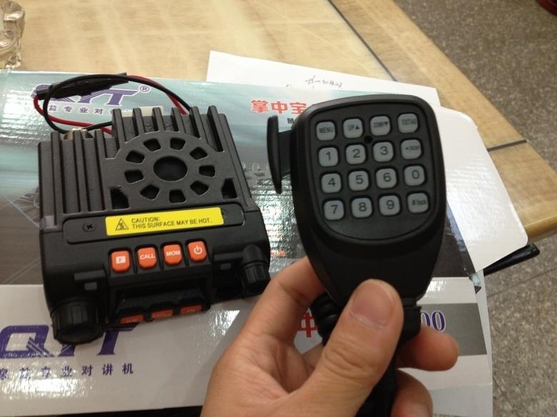 منتج جديد مصغرة الراديو النقال المزدوج الفرقة qyt kt8900 136-174/ 400-480mhz مرسل مصغرة + برمجة calbe(China (Mainland))