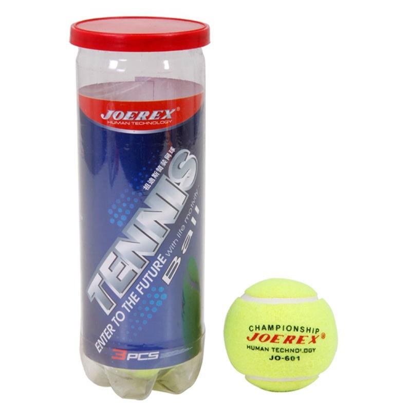 3 Pcs High Quality Tranning Balls Practice High Resilience Tennis Ball Pets Tranning Balls JO601 bolas de tenis(China (Mainland))