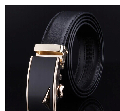 3.5cm width men belt with sliver and gold two color simple style mens belts luxury 2015 hot mens designer belts(China (Mainland))