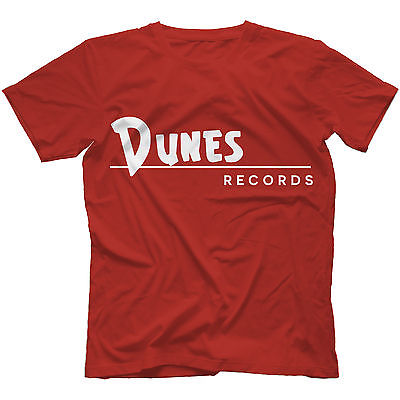 Dunes Records T-Shirt 100% Cotton Curtis Ray Peterson Phil Spector(China (Mainland))