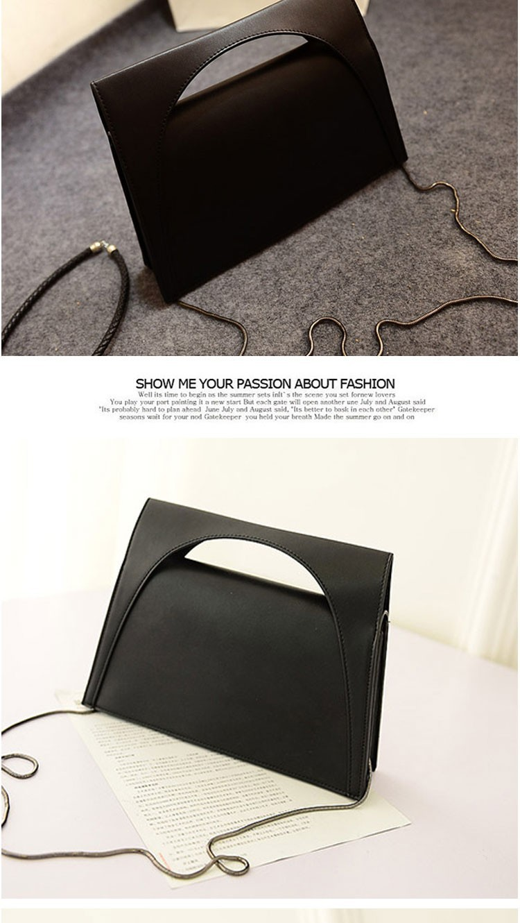New 2014 Casual All-match Zipper Small Bags Women Handbag Shoulder