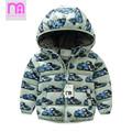 Children Padded Jackets Boys Girls Fashion Printed Thick Warm Autumn Winter Coat 3 8 Years Kids