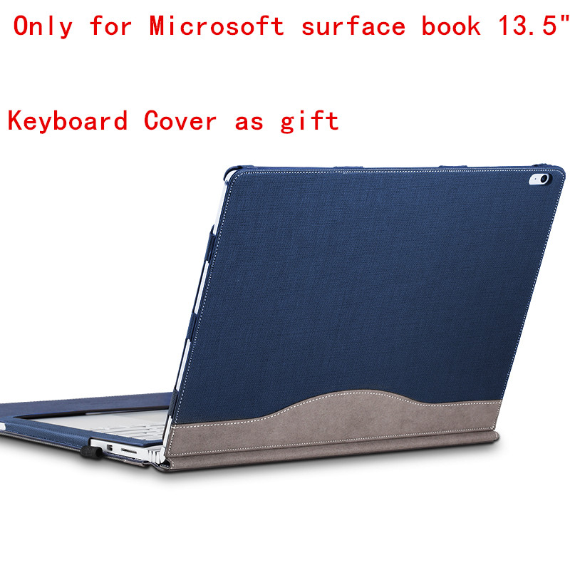 For Microsoft Surface Book 13.5  Tablet Laptop Sleeve Case PU Leather Protective Skin Detachable cover +gift  free shipping<br><br>Aliexpress