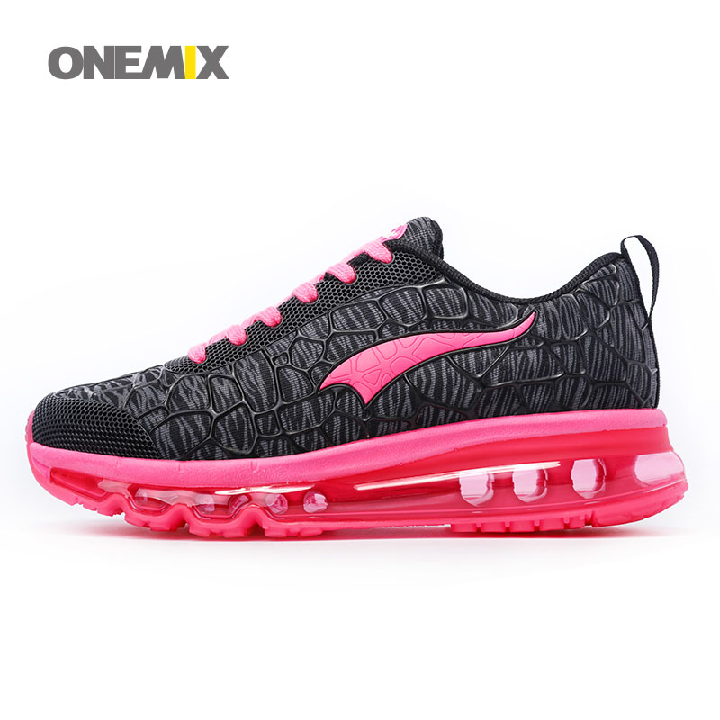 ONEMIX Women Running Shoes with 4 Colors Mesh Breathable Cushion Jogging Sports Shoes for Women EUR Size 35-40 1156<br><br>Aliexpress