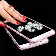Buy Bling Glitter Diamond Soft TPU Cover Clear Crystal Ultra Slim Back Case Samsung Galaxy S8 Plus A3 A5 A7 J5 2016 2017 S7 Edge for $2.11 in AliExpress store