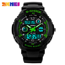 SKMEI Luxury Brand Men Sports Watches Digital Led Sport Wristwatches 50m Water Resistant Relogio Masculino For Mens Quartz Watch(China (Mainland))