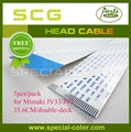 5pcs pack Double Deck Mimaki JV33 JV5 Printer Cable DX5 Printhead Head Cable