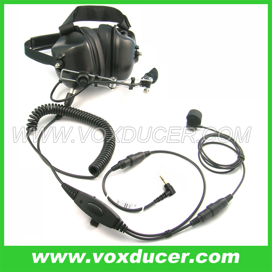 Super Deluxe Military Aviation Headphone for Motorola Talkabout FRS/GMRS 2.5mm plug FV200 FV500<br><br>Aliexpress