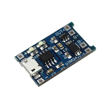 Buy Smart Electronics 5pcs 5V Micro USB 1A 18650 Lithium Battery Charging Board Protection Charger Module arduino Diy Kit for $1.25 in AliExpress store