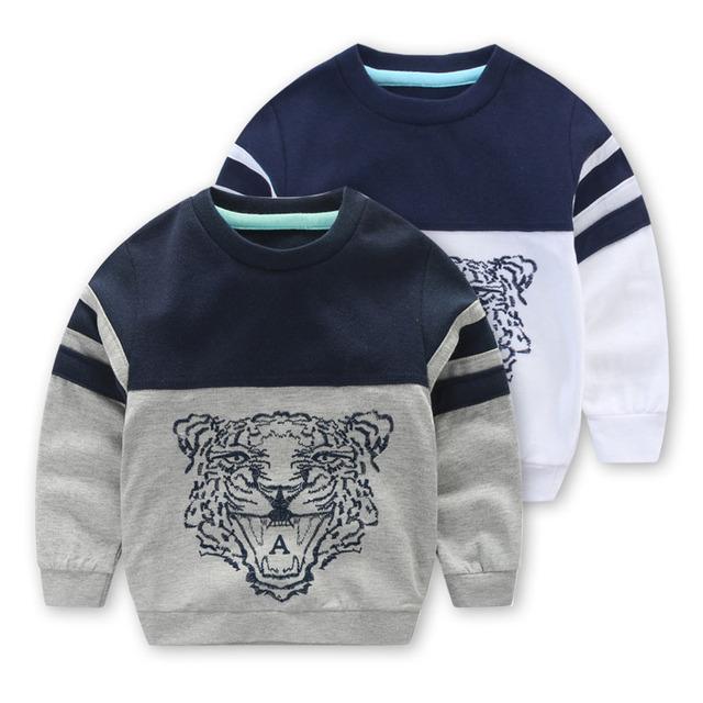 2016 новые мальчики головы свитер цвета дети детские весна весна досуг куртка рукава дети